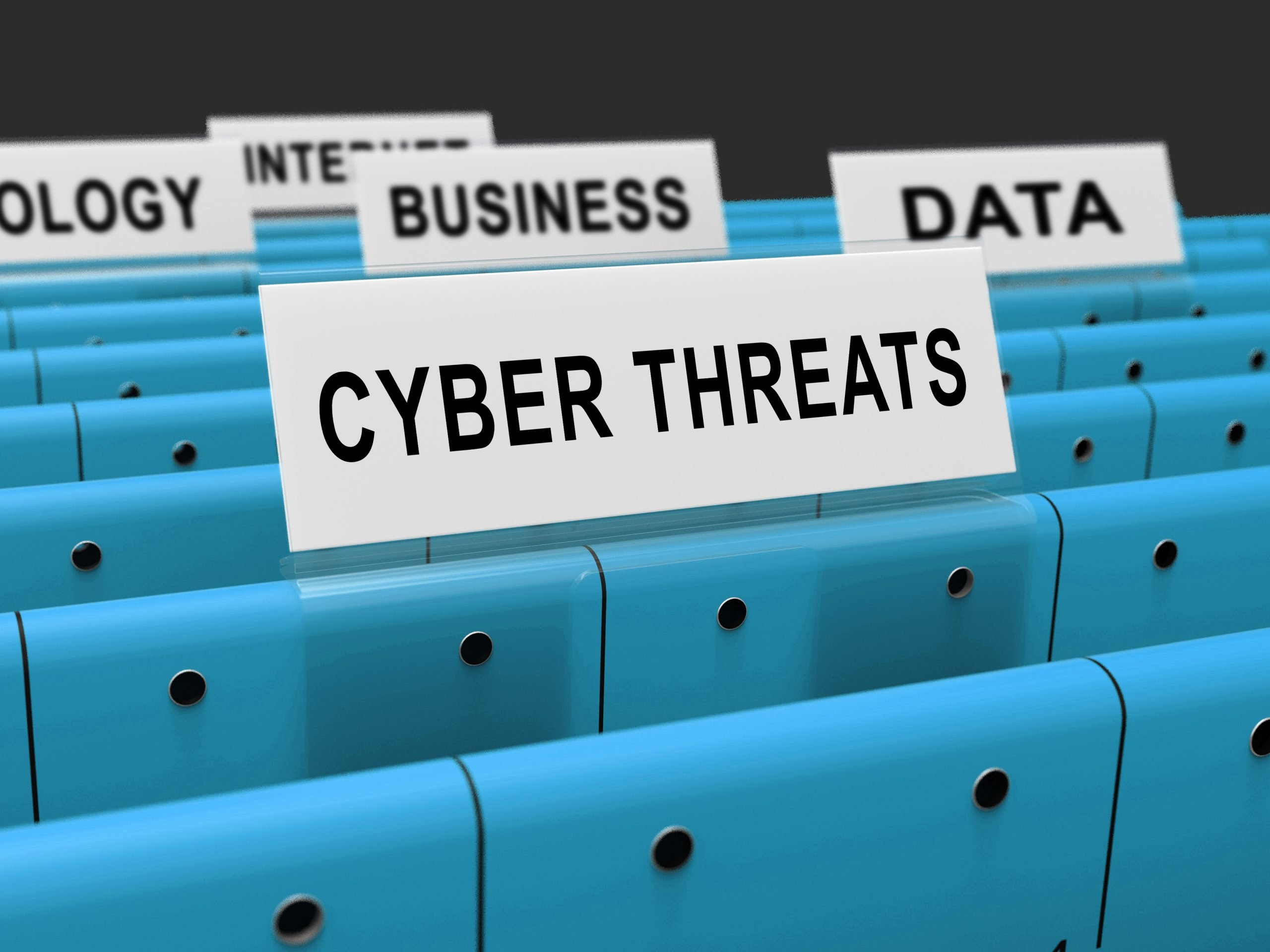 Cyber Threat Intelligence Online Protection 3d Rendering